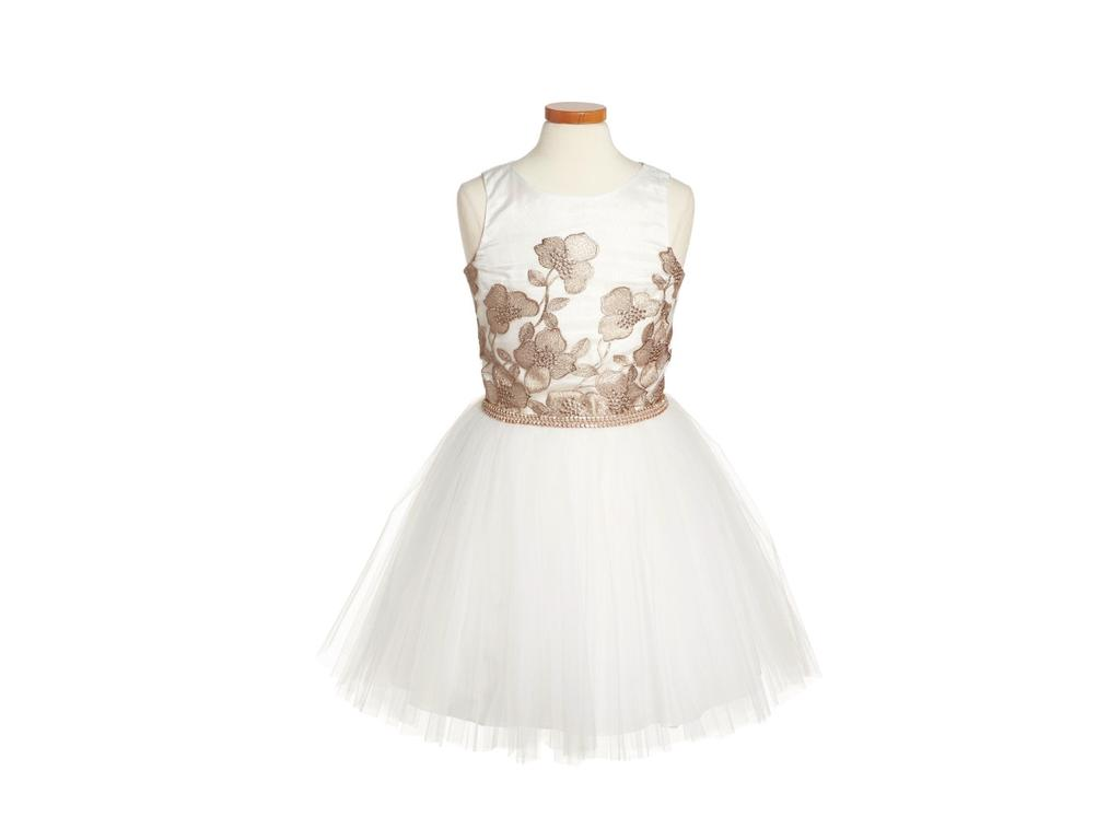 4a10aa7f944b Other David Charles S/l Embroidered Tulle , Size: 0   Flower Girl Dresses