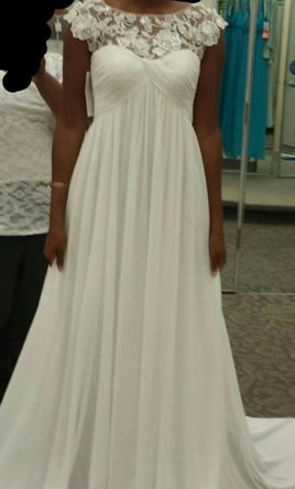 David's Bridal Dresses with Sleeves