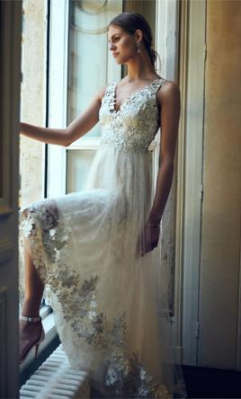 e0bc6413 Marchesa Opal from BHLDN Wedding Dress | New (Un-Altered), Size: 0, $800