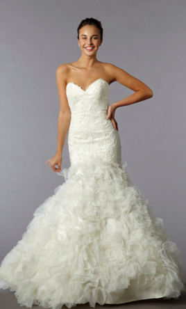 Mark Zunino Sweetheart Mermaid Gown i nLace 2