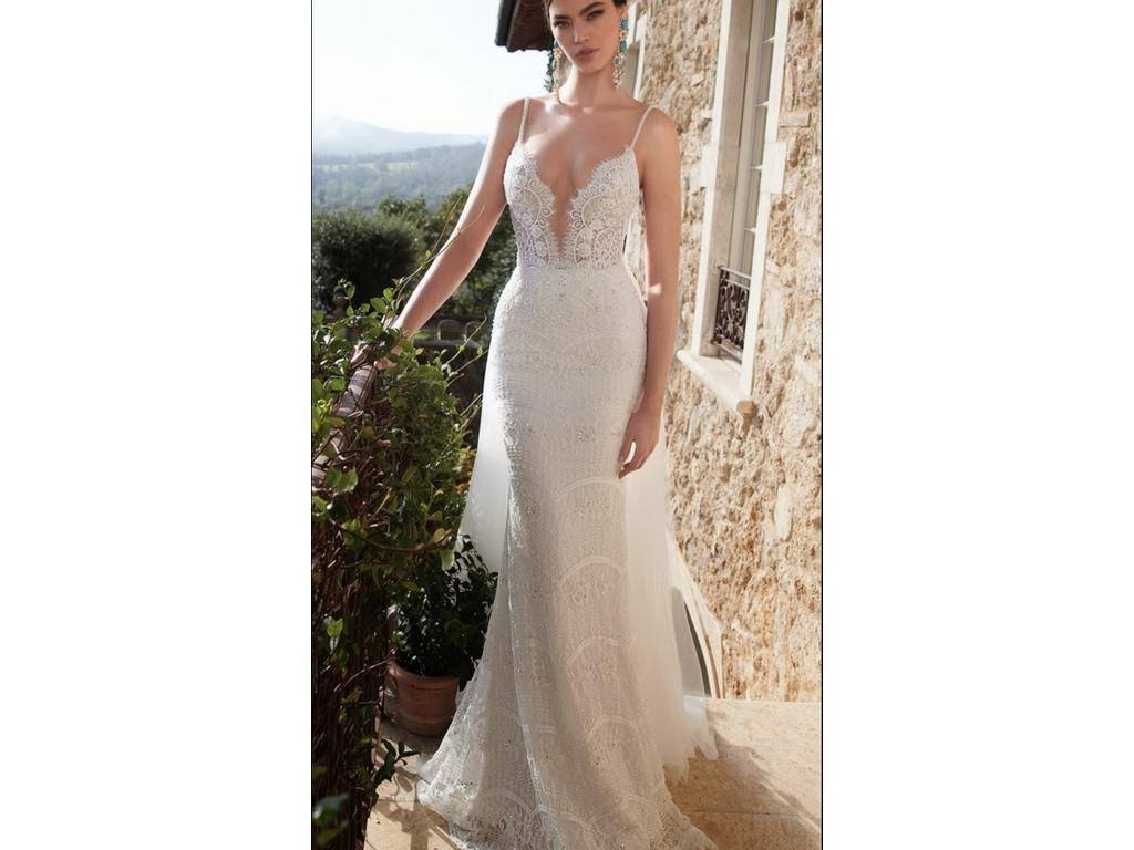 Berta 15 18 6980 size 14 used wedding dresses sale details ombrellifo Images