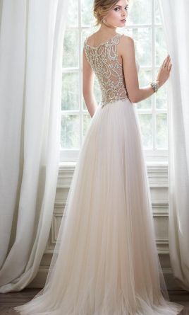 Maggie sottero bronwyn 700 size 2 new un altered for Maggie sottero grace kelly wedding dress