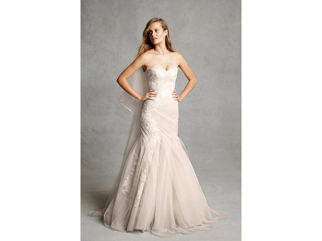 Used Wedding Gowns: Monique Lhuillier BL1516, $2,000 Size: 10