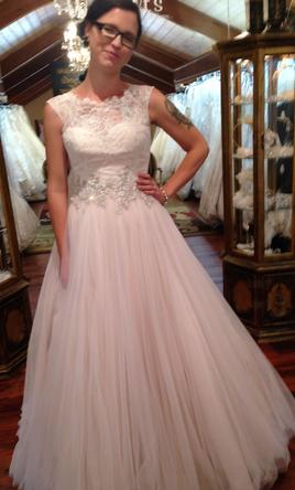 3d5e6be7d87ba Pin it · Allure Bridals 9022 12