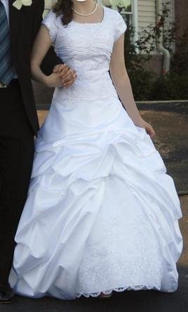 Other latterday bride westbrook 250 size 2 used for Latter day bride wedding dresses