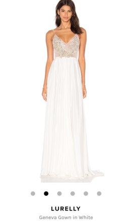 Other Lurelly Geneva Gown in White  4