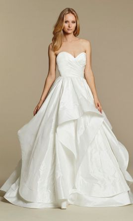 hayley paige apollo 1500 size 16 used wedding dresses