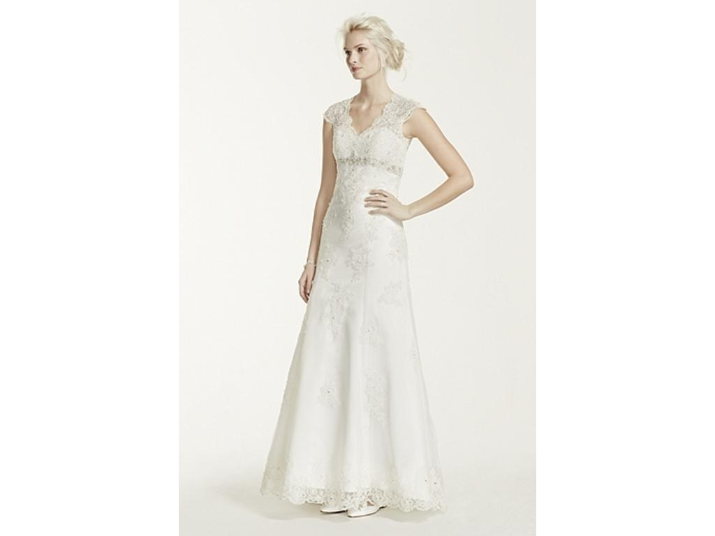 David 39 s bridal t3299 500 size 16 new altered for Davidsbridal com wedding dresses
