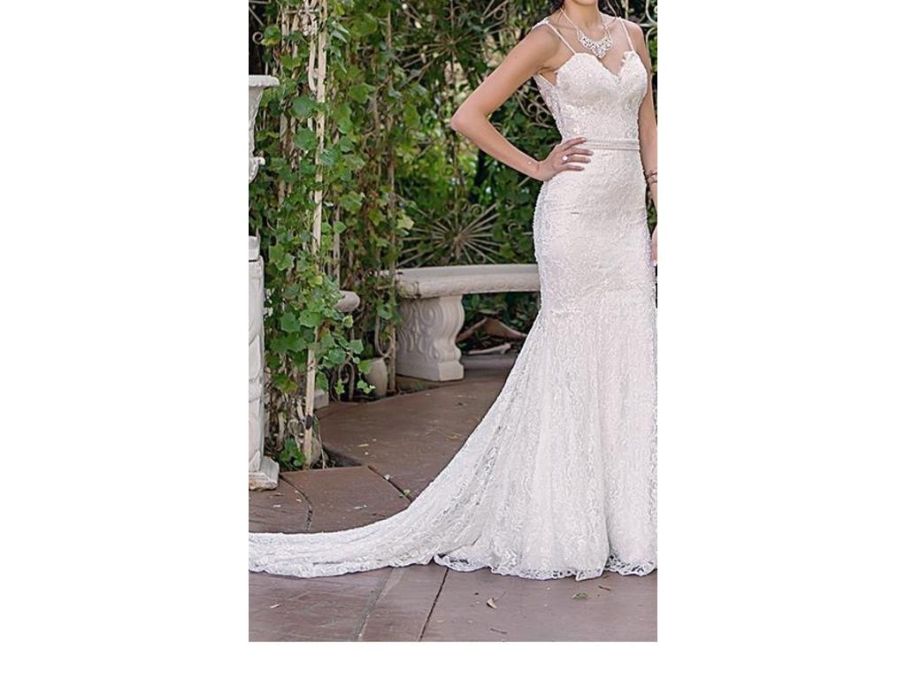 Galia lahav 6 700 size 0 used wedding dresses for Used wedding dress size 0