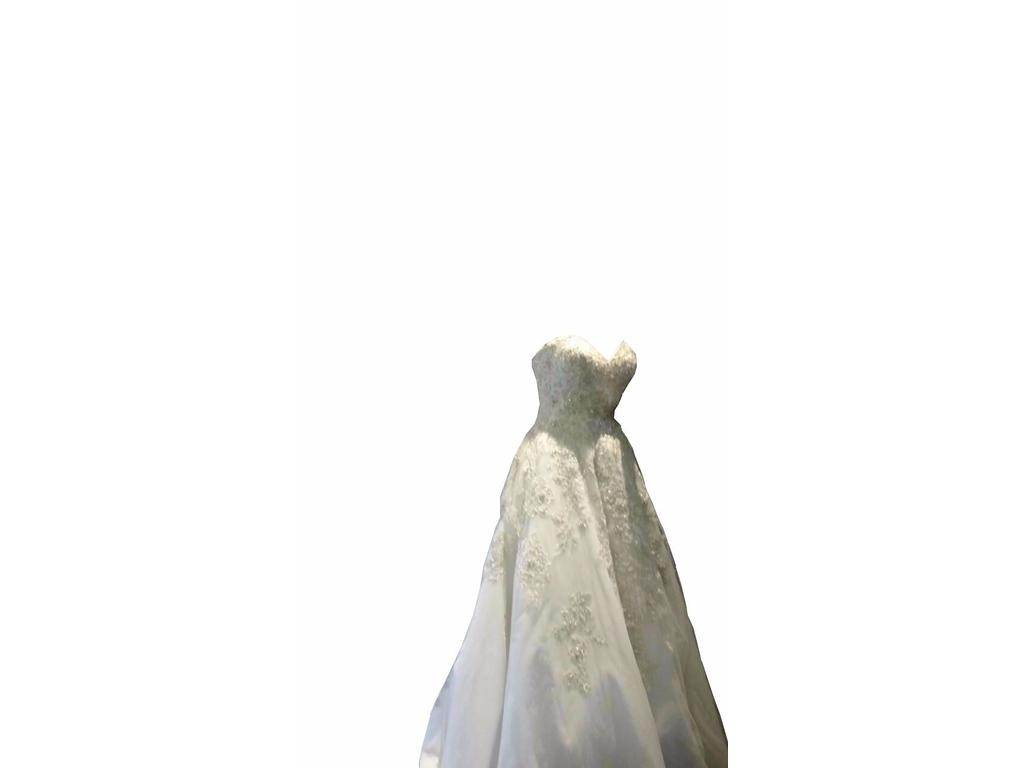 Mon amie 2 500 size 10 new altered wedding dresses for Mon amie wedding dresses