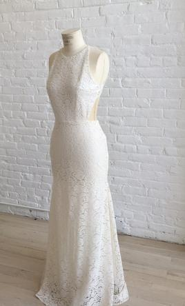 Sarah Seven Orleans Sleeveless Lace, $1,250 Size: 6 | New (Un ...