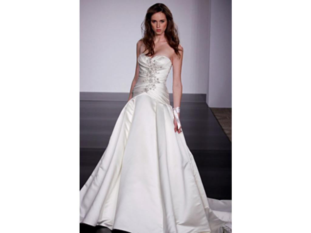 Used Wedding Gowns: Priscilla Of Boston JL104M, $400 Size: 8