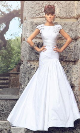 Jorge Manuel The Cafeniu In Pearl 399 Size 2 Used Wedding Dresses