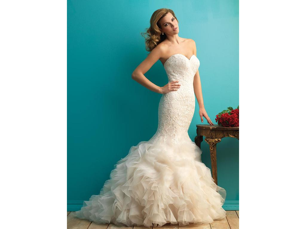 Allure Bridals 9254, $899 Size: 16 | New (Altered) Wedding Dresses
