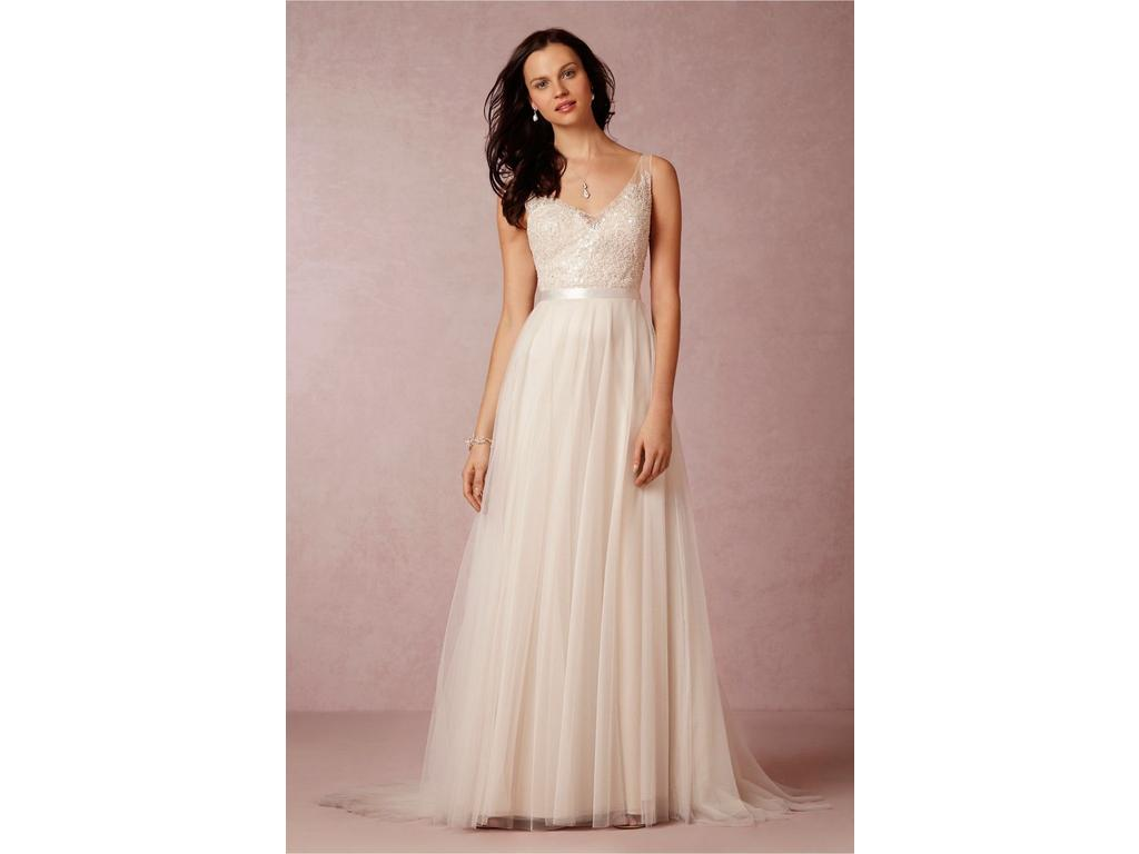 Bhldn Persiphone 500 Size 10 New Un Altered Wedding