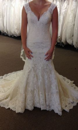 Allure Bridals 9322 1 080 Size 8 New Un Altered
