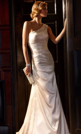 David's Bridal Galina 10