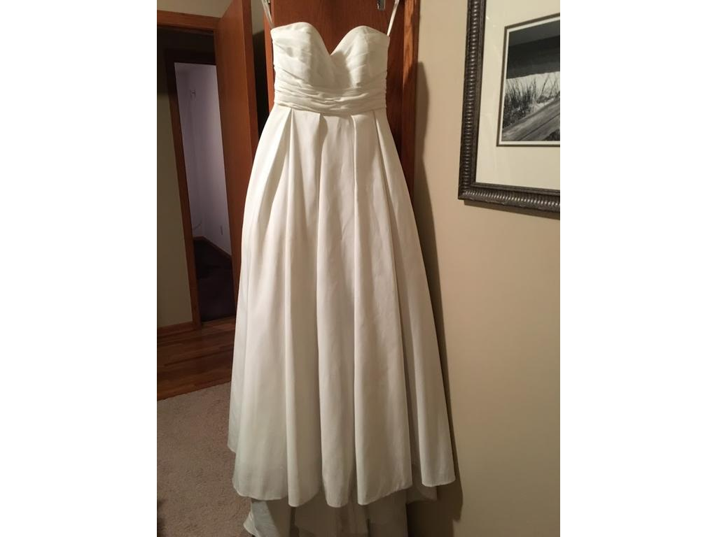 David 39 s bridal wg3707 200 size 4 used wedding dresses for Davidsbridal com wedding dresses