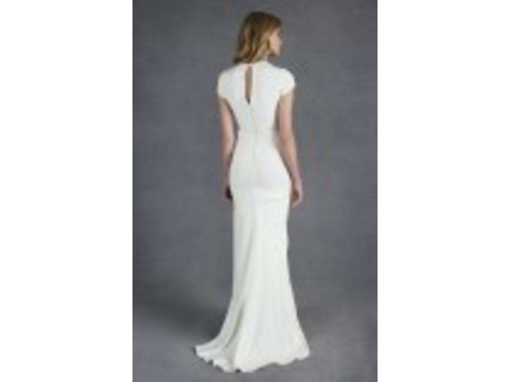 Nicole miller caitlyn 849 size 10 new un altered for Nicole wedding dress prices