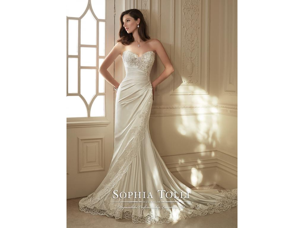 Sophia Tolli Y11642 Morrigan, $900 Size: 8 | New (Un-Altered ...