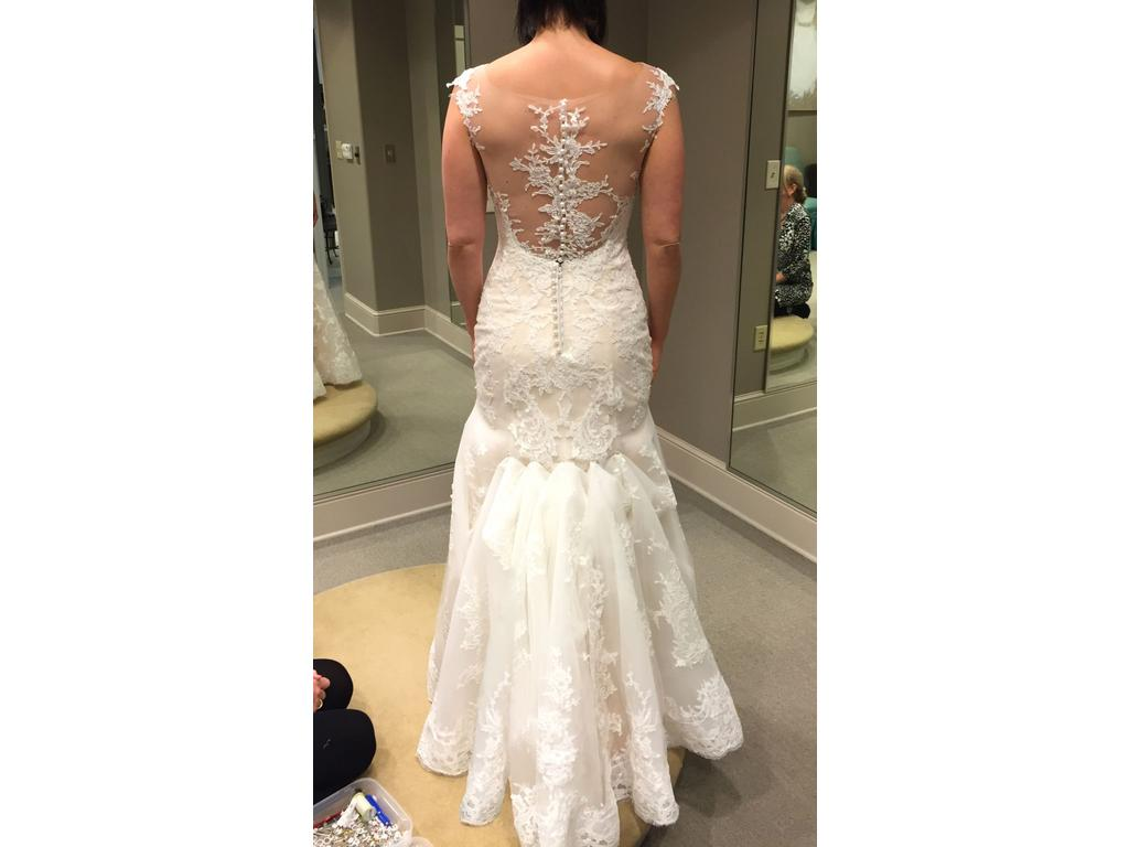 Maggie sottero noelle 1 125 size 10 new altered for Who sells maggie sottero wedding dresses