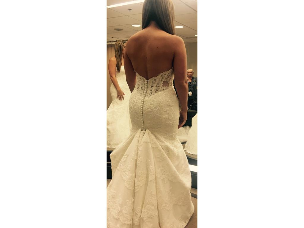 Matthew christopher emma 2 900 size 12 used wedding for Matthew christopher wedding dress prices