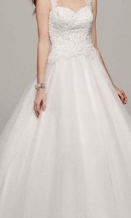 David's Bridal Ball Gown  14