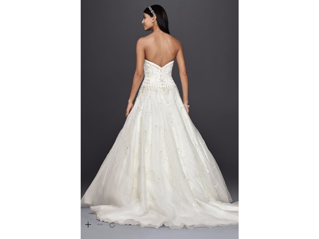 Wedding Dresses For USD 800 : Oleg cassini ct buy this dress for a fraction of the salon price