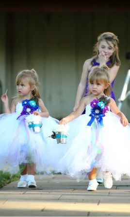 ae3d21b5a57a Other Peacock and Rhinestone Tutu Dress, Size: 0 | Flower Girl Dresses