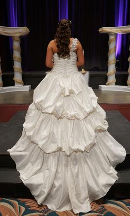 Alfred Angelo Cinderella Gown 500 Size 16 Used