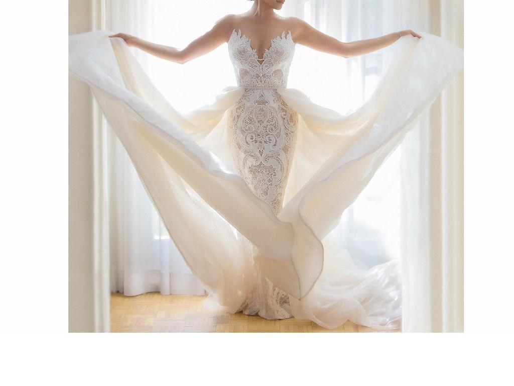 Berta Beaded Lace & Tulle Ballgown. , $5,500 Size: 6 | New (Un ...