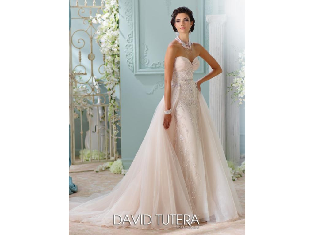 David tutera 116228 1 250 size 8 used wedding dresses for Pre owned wedding dresses