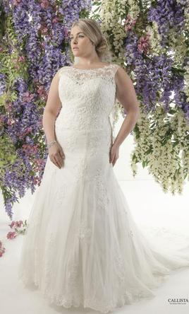 Calla Blanche Florence 600 Size 30w New Un Altered Wedding Dresses