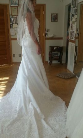 David's Bridal Gloria Vanderbilt, Altered, 5356 8