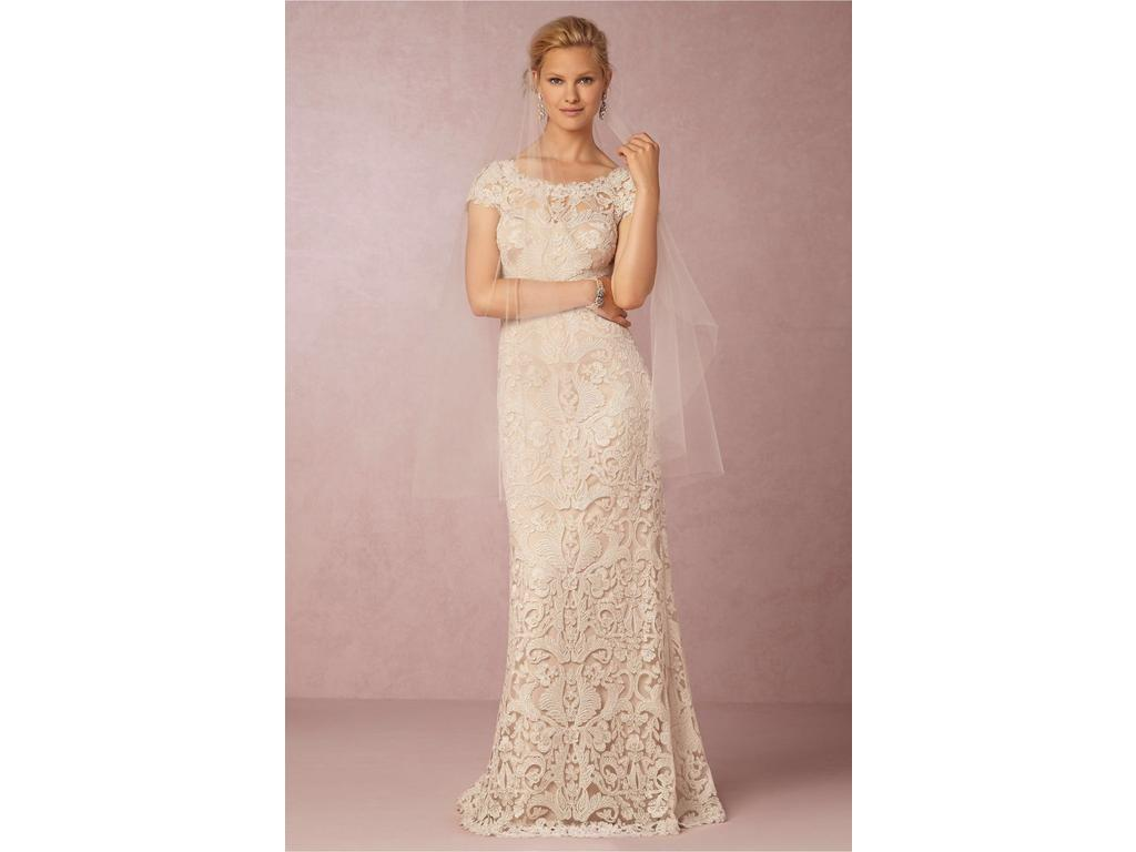 Bhldn August Gown 400 Size 8 Used Wedding Dresses