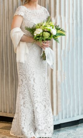 Pin It Bhldn August Gown 8