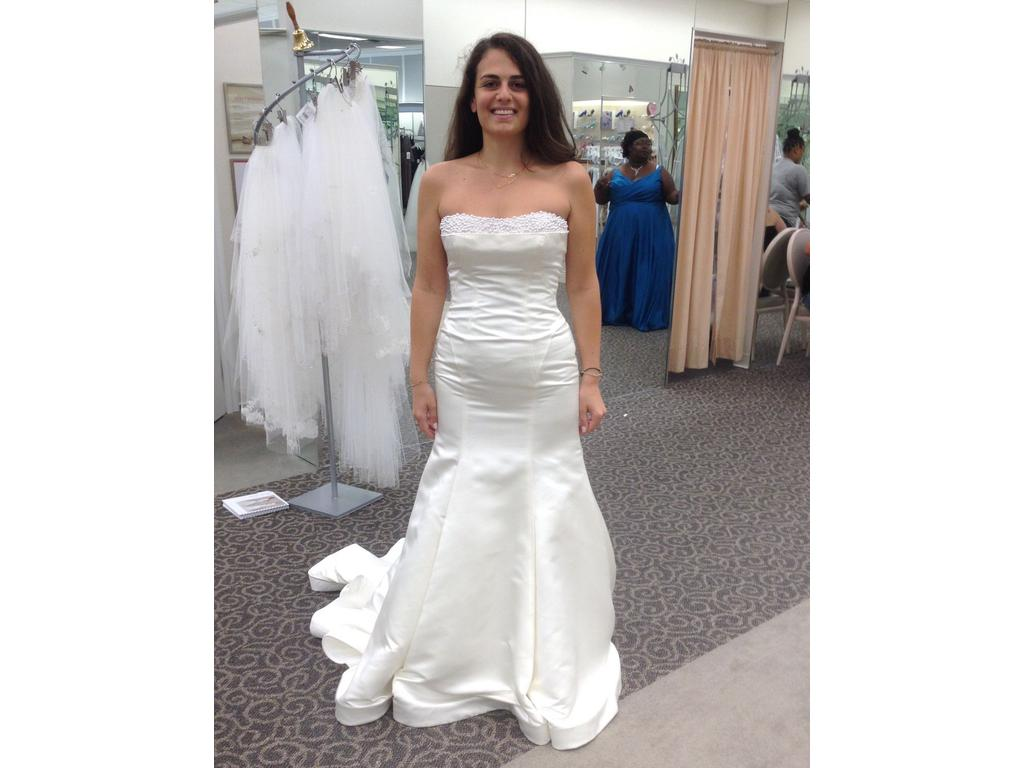 959b0d2ed161 Pin it · Zac Posen Truly Finely Structured Wedding Dress with Pearl Details  10