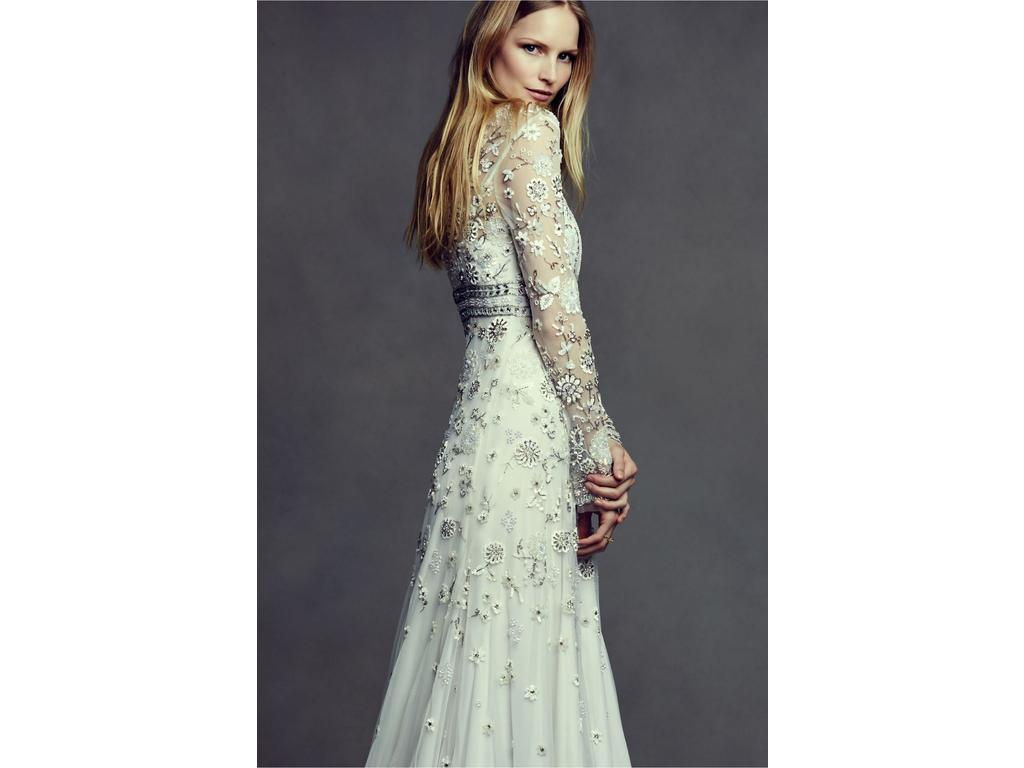 Bhldn tabitha 39031042 1 000 size 10 used wedding dresses for Bhldn used wedding dresses