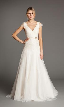Jenny Yoo Vionnet, $450 Size: 6 | Used Wedding Dresses