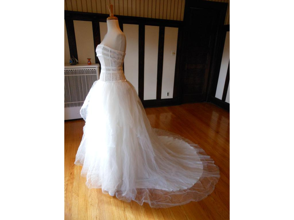 Other 99 size 4 sample wedding dresses for 901 salon prices