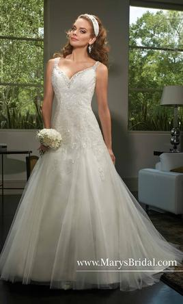 Marys Bridal S166430 199 Size 14 Sample Wedding Dresses - Marys Wedding Dresses