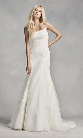 Spaghetti Straps Wedding Dress