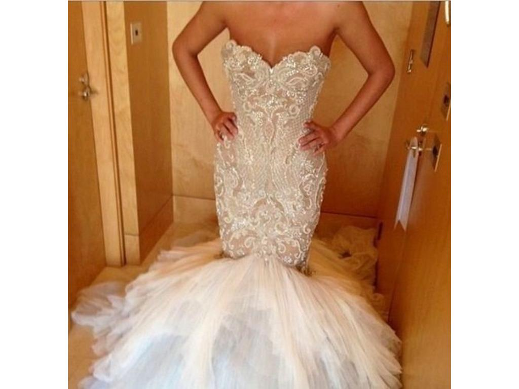Used Wedding Gowns: J'Aton Couture $9,000 Size: 0