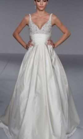 Priscilla of boston 4507 999 size 6 used wedding dresses for Where to buy a wedding dress in boston