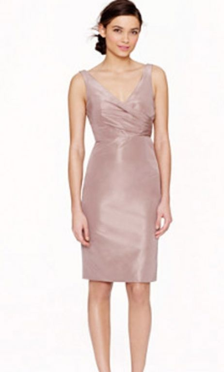 Silk Taffeta Bridesmaid Dress