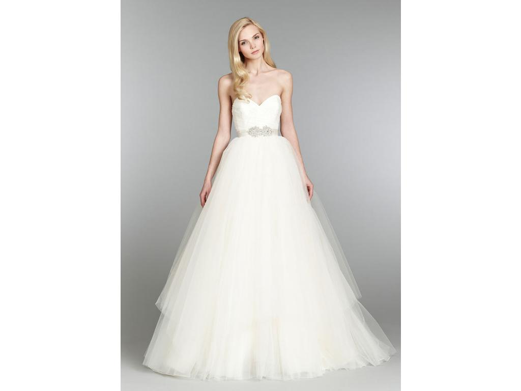 Hayley paige 1 500 size 6 new un altered wedding dresses for Hayley paige wedding dress prices