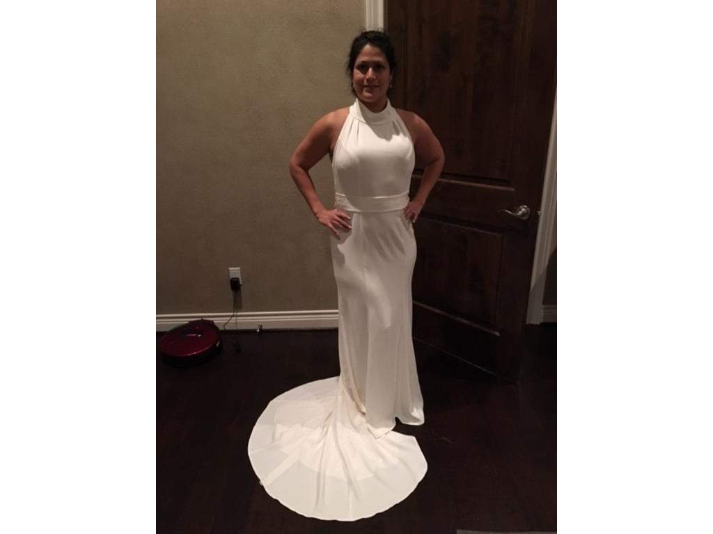 a74fcd9826583 Vera Wang White VW351263, $250 Size: 12 | New (Altered) Wedding Dresses