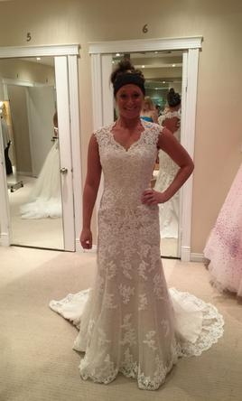 Madison James W/G Lace with Keyhole F14 Ivory Champagne , $900 ...