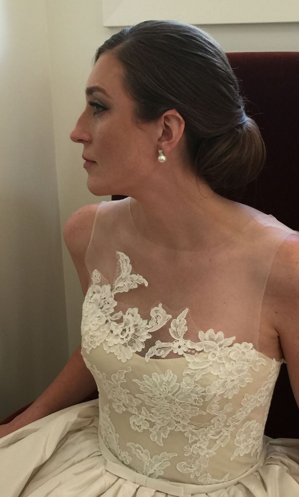 Amsale ryan 2 700 size 8 used wedding dresses for Ryan and walter wedding dress prices