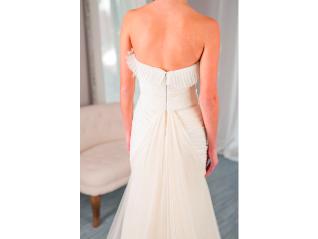 Vera wang hayden for rent or sale 1 220 size 0 used for Vera wang wedding dress for sale